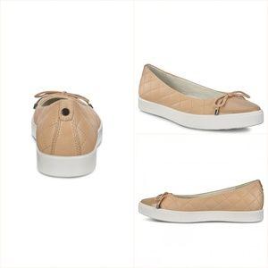 Shoes - ECCO GILLIAN BALLERINA POWDER/POWDER